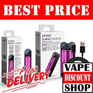 EFEST-SLIM-K1-K2-INTELLIGENT-VAPE-CHARGER-18650-20700-Battery-Best-Price