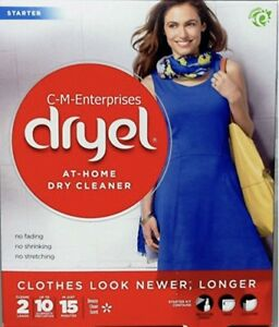 Dryel At Home Dry Cleaner Breezy Clean Starter Kit 2 Loads ...
