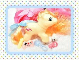 My-Little-Pony-MLP-Vtg-G1-Style-HQG1C-Playful-Newborn-Baby-ZIPPER-Custom