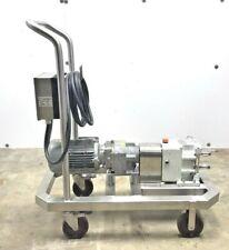 Fristam Fl2 Lobe Model 75s Positive Displacement Pump Motor And Gear Box