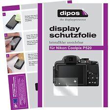 6x dipos Nikon Coolpix P520 Film de protection d'écran protecteur cristal clair