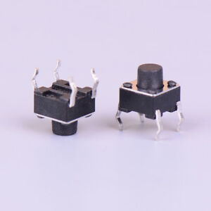 5pcs 5mm spring return momentary micro push button switch 0.5A DS-402 JCSE