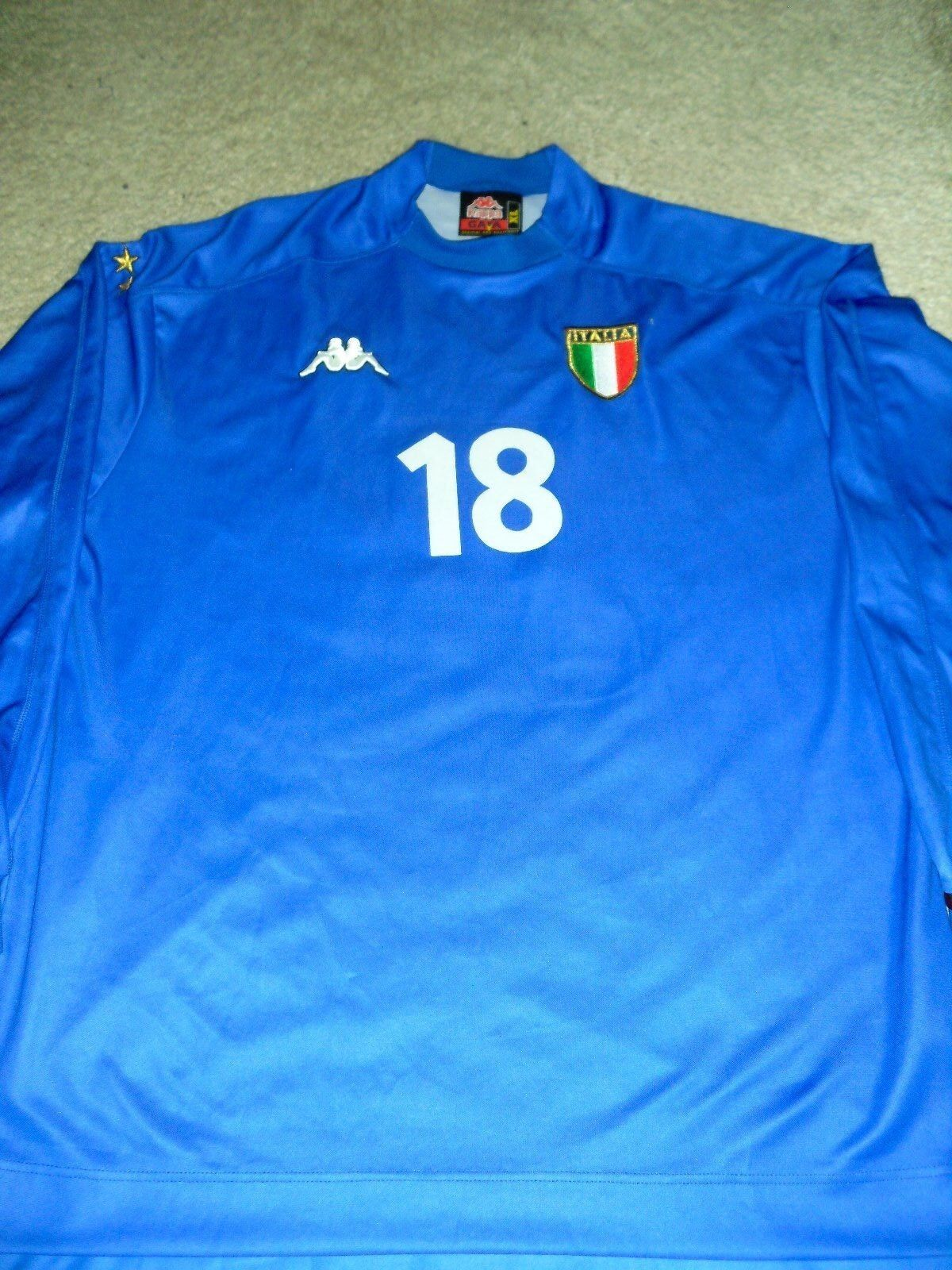 1999 Kappa Baggio Italia Home Jersey L S