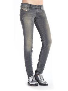 Diesel-Getlegg-0607Z-Damen-Jeans-Hose-Slim-Skinny