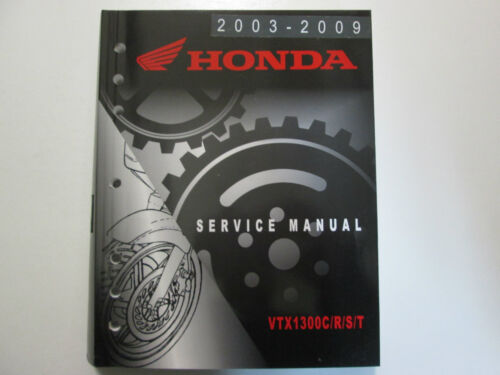 2004 2005 2006 2007 2008 2009 Honda VTX1300C R S T Service Shop Manual NEW
