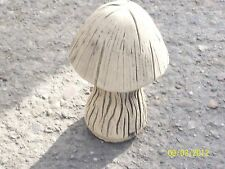 Mushroom Garden Ornament in Two (2) Parts - Latex Mould/Mold