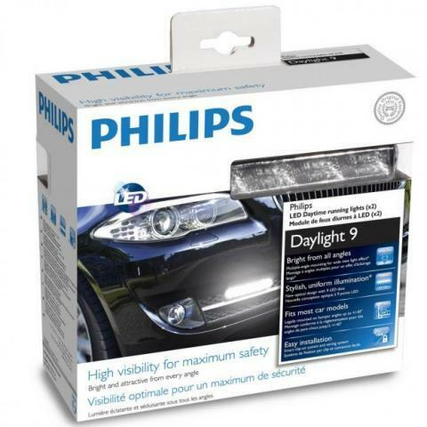PHILIPS FEUX DE JOUR XJ DRL LED DayLight 9 JEEP CHEROKEE
