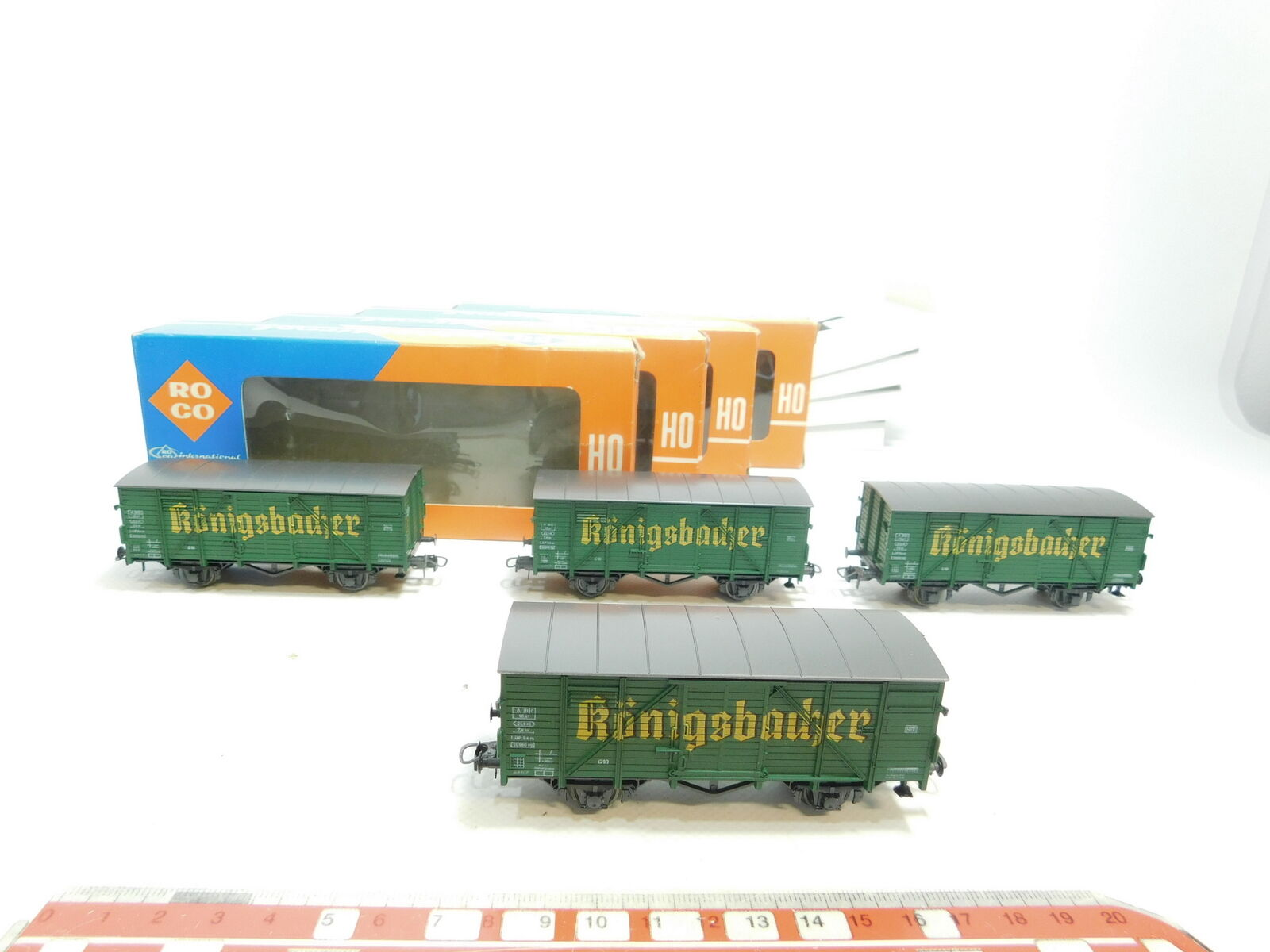 Bd102-1x Roco h0 dc 4301c Beer Wagon Königsbacher, Very Good + OVP  4301