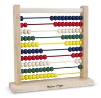 Melissa And Doug Classic Wooden Abacus , New, Free Shipping on sale