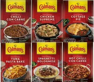Colman's Recipe Mix - Beef Chicken Casserole / Cottage Pie ...