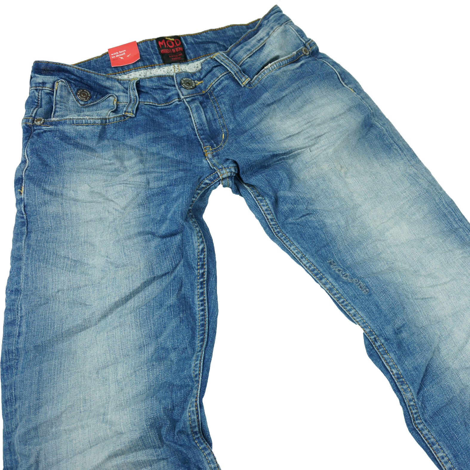M.O.D MONOPOL Jeans Herren JOSHUA   POT Denim Blau MOD Danny Star Neu Hose POT     | Innovation