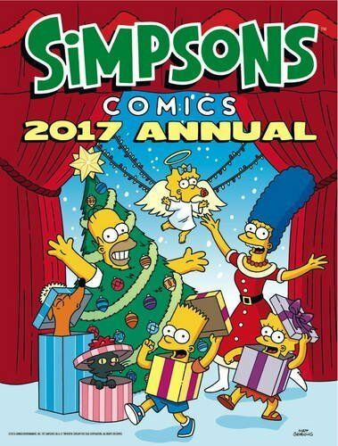 1 of 1 - The Simpsons - Annual 2017 (Annuals 2017) by Matt Groening 1785653350 The Cheap