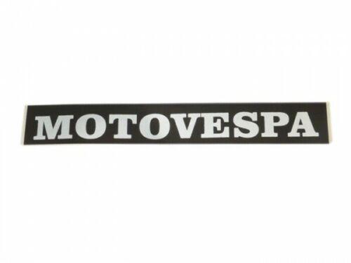Motovespa Primavera 125 75 DS CL DN 125 150 200 Rear Seat Badge