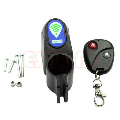 Lock Bicycle Cycling Security Wireless Remote Control Vibration Alarm Anti-theft