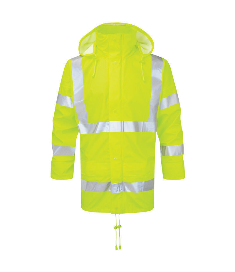 Castle Fortress 251 Air Reflex hi-vis water & wind-proof jacket - small-3XL