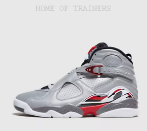 Detalles acerca de Nike Jordan 8 Retro 3M Reflections de Air A Champion Gris para Hombre Zapatillas mostrar título original