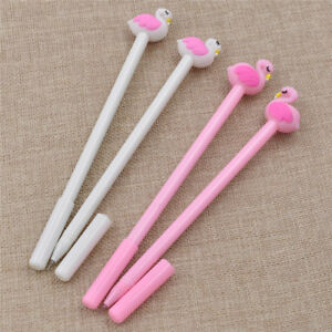 Pink-Flamingo-Kawaii-Stationery-Creative-0-5mm-Gel-Pen-School-Accessories-Hot