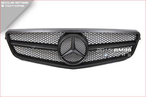 08-14 Matte Black Fits Benz C Class W204 C300 C350 C250 Front Grill Grille