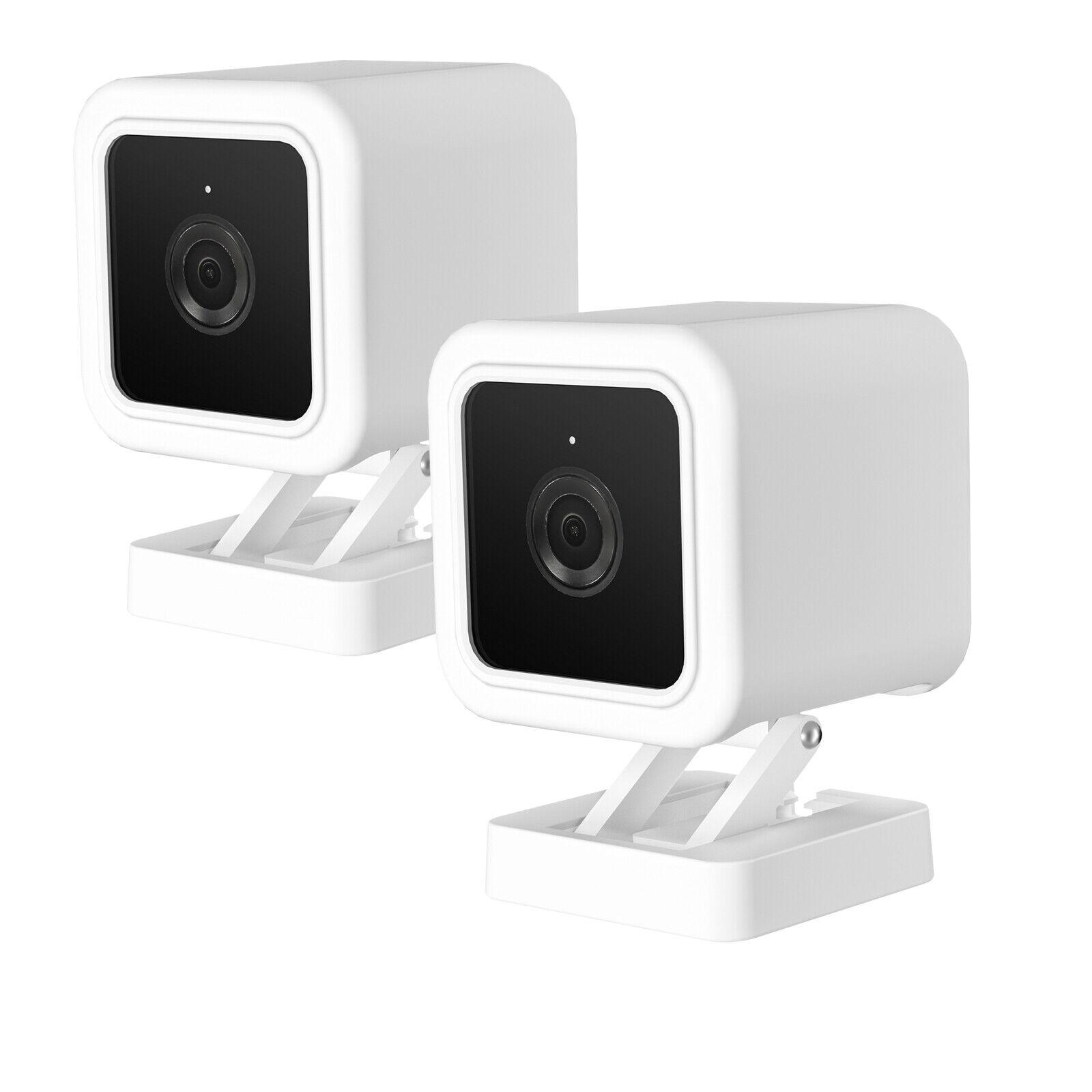 HOLACA Silicone Skin Protective Case/Cover for Wyze Cam v3 Indoor/Outdoor Camera