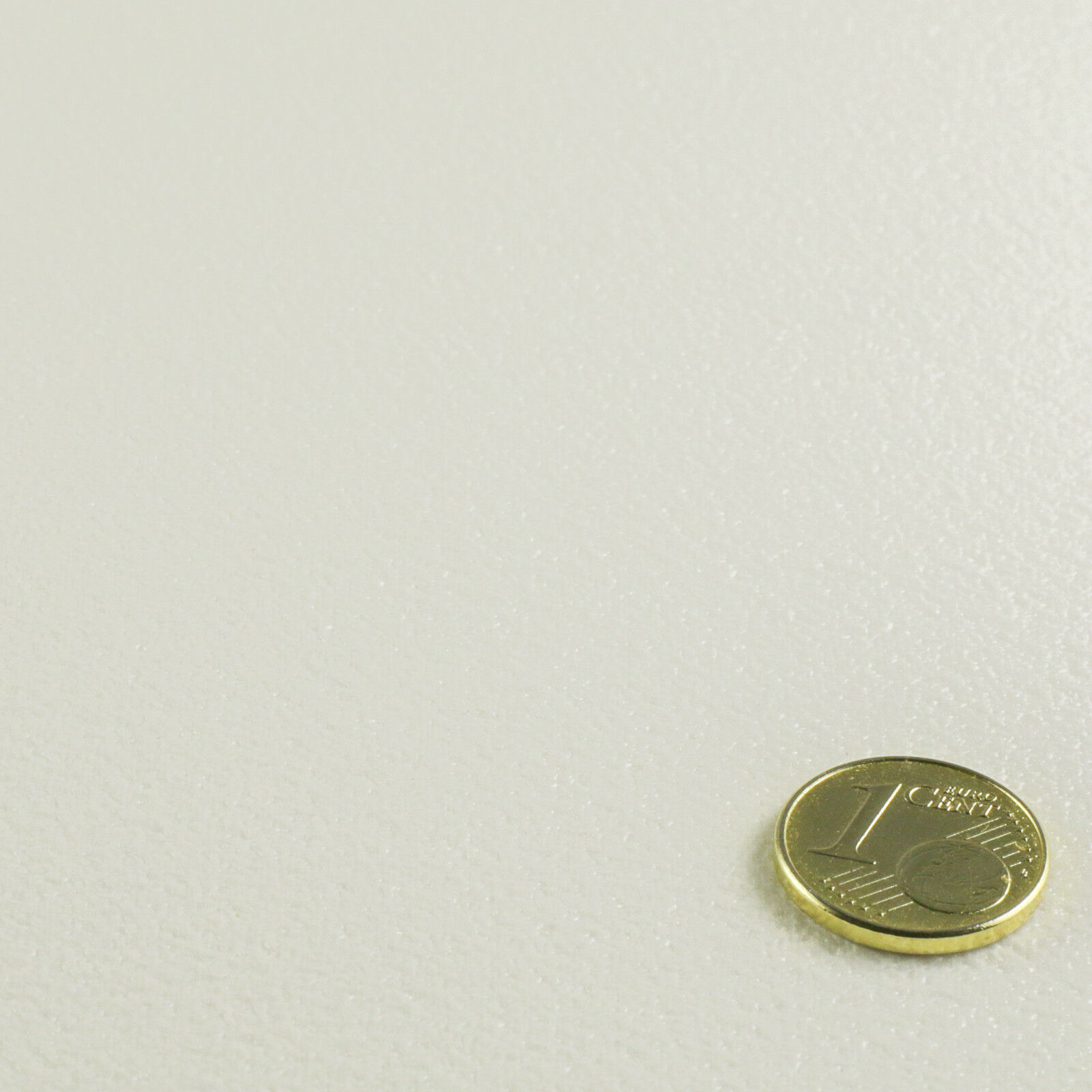 PVC Vinyl Bodenbelag Einfarbig Uni Weiß Breite 2 m - 1m²/