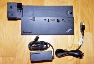 Lenovo-ThinkPad-Pro-Dock-40A10090US-T440-T450-T460-T470-cle-65-W-courant-alternatif
