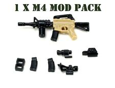 W183 SCAR Assault Rifle Compatible with toy brick minifigures Army M16
