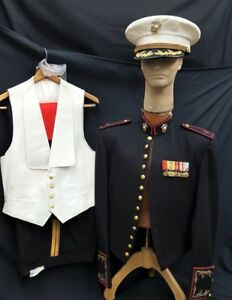 Wwii Original Military Marine Corp Major Officer S Mess