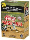2017 Topps Heritage Baseball Factory Sealed 8 Pack Box