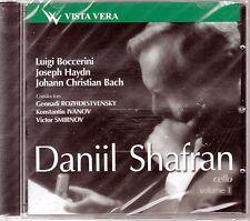 SHAFRAN, DANIIL Vol.1 Boccherini Haydn J.Ch.Bach Cello Concertos CD NEW