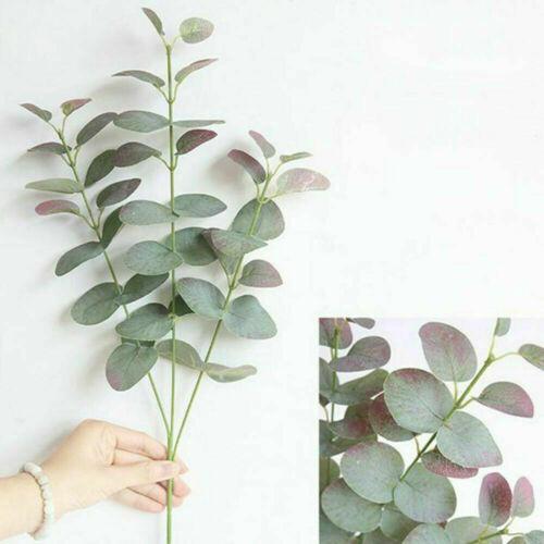 Artificial Fake Leaf Eucalyptus Green Plant Silk Flowers Nordic Home Decor
