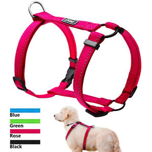 H-Style Adjustable Pet Dog Strap Harness Quick Fit Vest Reflective