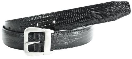 NUOVI Donna Mini fibbia pelle di coccodrillo con texture cinture in vera pelle M-4XL