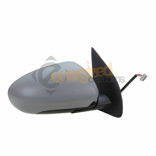 For Nissan Qashqai 07-10 Powerfolding Primed Wing Door Mirror Drivers Side