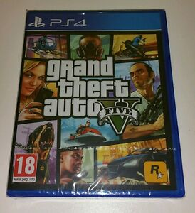 Grand Theft Auto V Ps4 Game New Sealed Uk Pal Sony Playstation 4