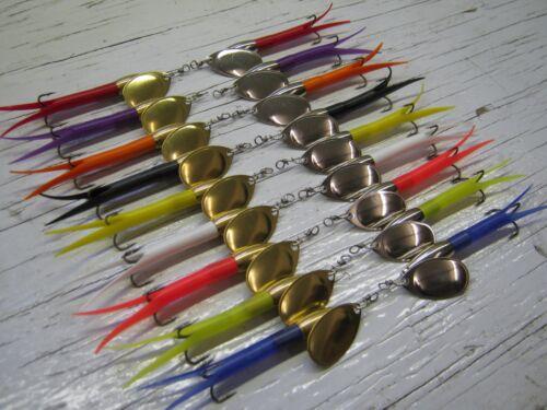 E39 1 Flying C Bullet Spinner-Köder 10g 15g 20g Auswahl unter 10 Schwanz Farben