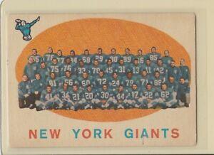 1959-Topps-133-New-York-Giants-Team-Vintage-Football-Card
