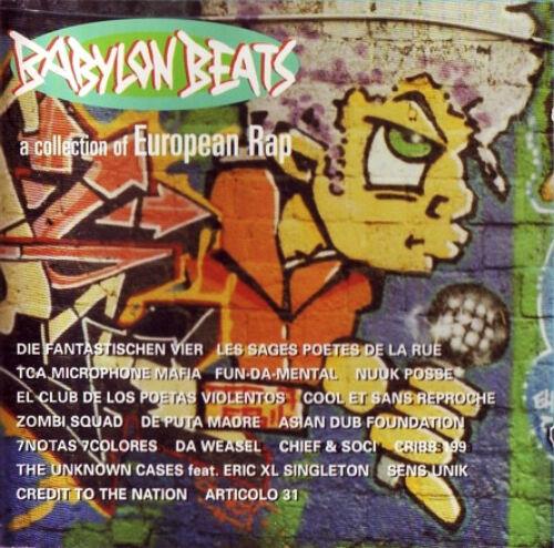 BABYLON BEATS A collection of european rap CD (1996 Day-Glo) Neu!