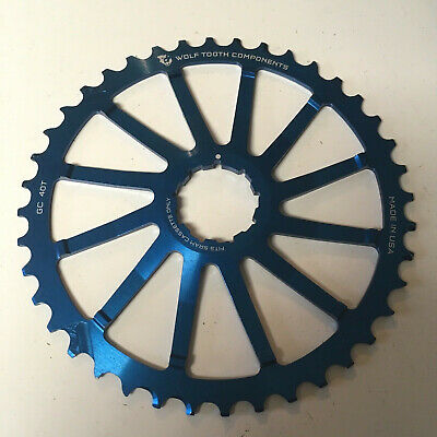 Wolf Tooth Components 16T Cog-For Shimano//SRAM GC Cogs-Silver-New