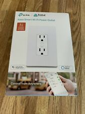 TP-LINK KP200 2-Socket Kasa Smart Wi-Fi Power Outlet