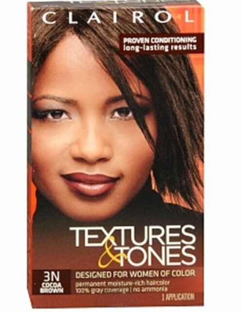 Clairol Textures Tones Permanent Moisture Rich Hair Color 3n Cocoa Brown