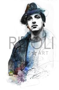ROCKY BALBOA Sylvester Stallone Limited Edition Print Rocky Digital Signed Art