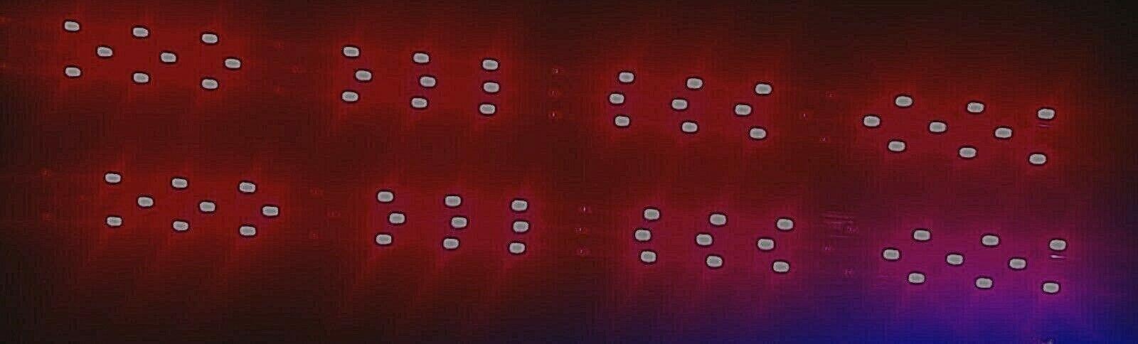 Brojoe 3 tira de sol de refuerzo 24v Samsung LED 48 Diodo 660nm 730nm inot Quantum
