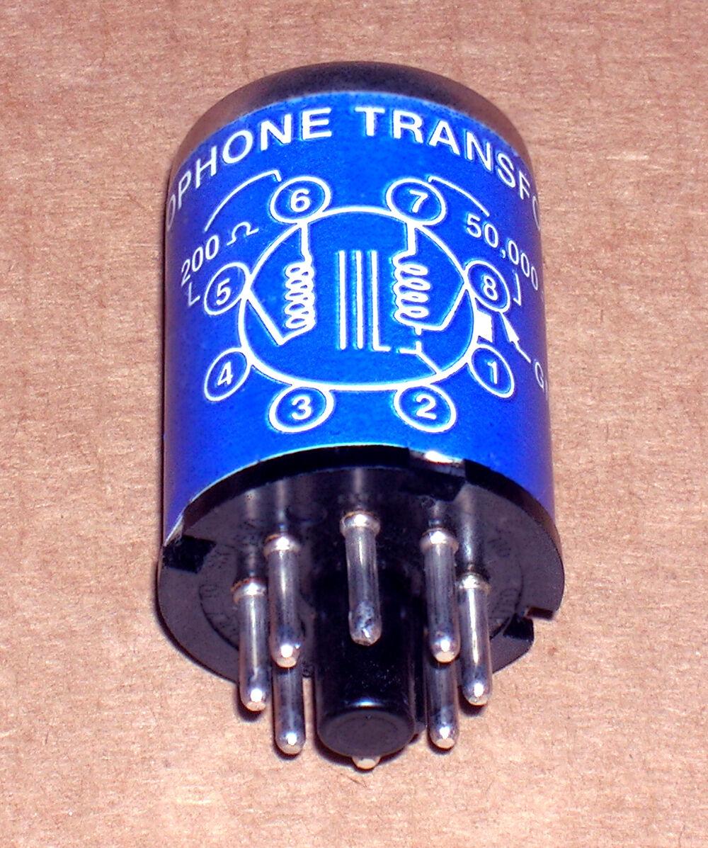 One vintage McGohan MC-2 microphone input transformer