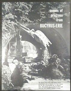 Bucyrus Erie 30-XC 30-Ton Hydraulic Truck Crane Sales Brochure
