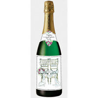 Pictura Champagne Bottle Card - Wedding, Two Chairs - 37