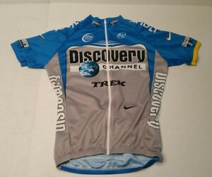 f0327928c Nike Dri-Fit Cycling Jersey Discovery Channel Trek Unisex Medium ...