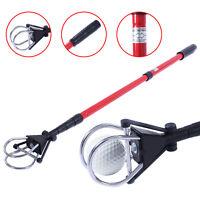 Retractable Golf Ball Retriever Scoop Telescopic Pick Up Grabber Shaft Tool