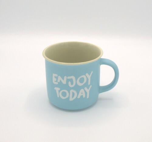 Jolly Hens 2er Set Porzellan Becher Tassen Ihr Enjoy Today Think Happy Huhn