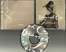 DEBORAH COX September w/ RARE RADIO EDIT 1998 USA PROMO DJ CD single MINT 3517
