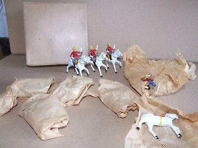 100% Vero Benbros Giubbe Rosse Hanno Un Mountie & Cavallo Confezione Commerciale-
